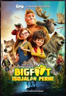 Bigfoot - Isojalan perhe -elokuvan juliste