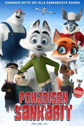 Pohjoisen sankarit -elokuvan juliste