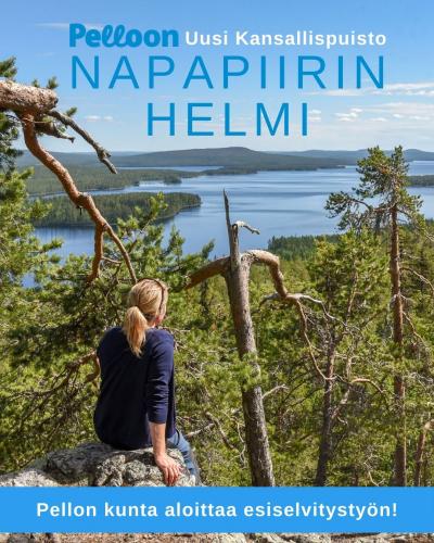 Pellon kunta aloittaa esiselvitystyön Napapiirin Helmi -kansallispuistosta